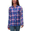 Rails Hunter Ruby/Sky/White Long-Sleeve Button Up - Women's