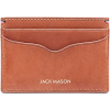 Jack Mason Leather Card Case - Men's