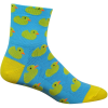 DeFeet Aireator Rubber Ducky 3in Sock