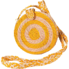 Kaanas Akumal Woven Circle Crossbody Purse - Women's