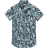 The North Face Bay Trail Novelty Woven Short Sleeve Shirt   Men's