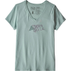 Patagonia Live Simply Sleeping Out Organic V-Neck T-Shirt - Women's