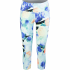 Vogo Activewear Print Capri With Self Pockets - Women's