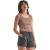 Icebreaker Sphere Short-Sleeve Scoop Shirt - Women's