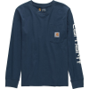 Carhartt Pocket Logo Long-Sleeve T-Shirt - Boys'