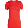 Icebreaker Tech Lite Cadence Pulse Low Crewe Shirt - Women's