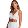 Seafolly CapriSea V Neck Crop Top Bikini Top - Women's