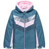 Stoic Retro Chevron Colorblock Fleece Lined Boarder Jacket