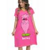 Bed Hog - Pig   V-neck Nightshirt (L/XL)