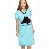 Bearly Awake   V-neck Nightshirt (S/M)