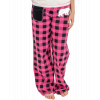 Bear Plaid   Women's Fitted PJ Pant (S)
