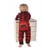 Bear Cheek Plaid | Infant Onesie Flapjack (6 MO)