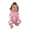 Classic Moose Pink | Infant Onesie Flapjack (18 MO)