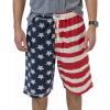 Stars & Stripes | Men's Pajama Shorts (L)