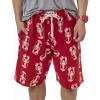 Lobster   Men's Pajama Shorts (XS)