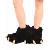 Black Bear | Paw Slipper (L)