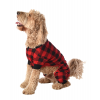 Bear Cheeks Plaid | Dog Onesie Flapjack (XS)