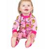 Duck Duck Moose Pink | Infant Union Suit (12 MO)