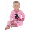 Bear in The Morning | Girl Union Suit (18 MO)