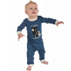 Bear in The Morning | Boy Infant Union Suit (6 MO)