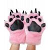 Pink Bear   Paw Mitt (Kids)