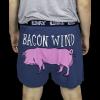 Bacon Wind - Pig | Men's Funny Boxer (L)