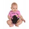 Bear Hug Pink | Infant Creeper Onesie (S)