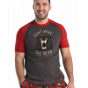 Don't Wake The Bear | Men's PJ Tee (XS)