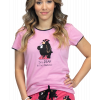 Bear in the Mornings   Women's Fitted Tee (L)