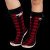 Moose Plaid | Mukluk Slippers (One Size)