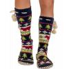 Bear Fair Isle | Mukluk Slipper (One Size)
