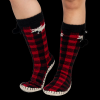 Moose Plaid | Mukluk Slippers (L/XL)