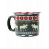 Moose Fair Isle | Ceramic Mug (MG269)