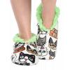 Catitude | Fuzzy Feet Slipper (S/M)