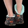Born Wild | Fuzzy Feet Slippers (S/M)