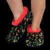 Cactus | Fuzzy Feet Slippers (L/XL)