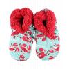 Crabby in the Morning | Fuzzy Feet Slipper (S/M)