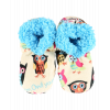 Owl Yours | Kid Fuzzy Feet Slippers (KFF160)