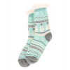 Nordic Snowman | Plush Sock (One Size)