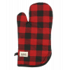 Red Plaid Oven Mitt (OM140)