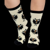 Bat Moose | Crew Sock (One Size)
