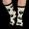 Bat Moose | Crew Sock (XL)