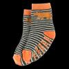Bear Stripe | Boy Infant Sock (S)