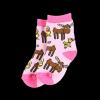 Duck Duck Moose Pink | Infant Sock (M)