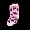 Bear Hug | Girl Infant Sock (S)