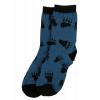 Bear Hug Blue | Kid Sock (S)