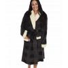 Grey Plaid | Women's Bathrobe (L/XL)