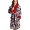 Moose Fair Isle | Women's Bathrobe (L/XL)