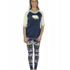 Bear Fair Isle | Women's Legging Set (L)
