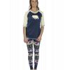 Bear Fair Isle | Women's Legging Set (XL)